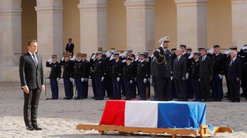 Francia despide a Chirac con duelo nacional y ceremonia con líderes extranjeros