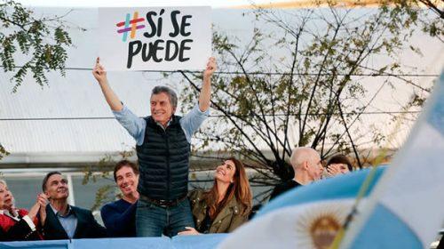 """Macri sigue con sus marchas del """"Sí, se puede"""""""