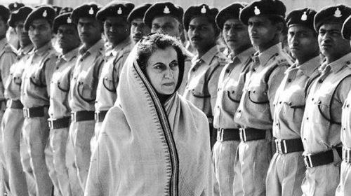35 años del asesinato de Indira Gandhi
