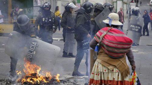 Bolivia: derogan el polémico decreto que eximía a las Fuerzas Armadas de reprimir las protestas