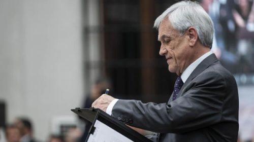 Para Piñera la represión es una fake news