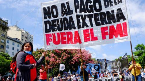Distintas organizaciones sociales protestarán en contra de la llegada del FMI a la Argentina