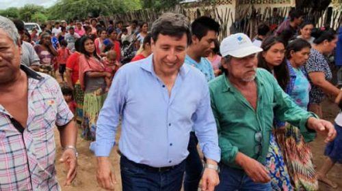 Daniel Arroyo volvió a visitar comunidades wichi en Salta