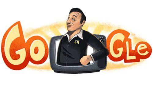 Google homenajea a Chespirito con un Doodle