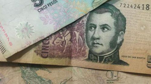 Extienden hasta fin de año el plazo para canjear los billetes de 5 pesos
