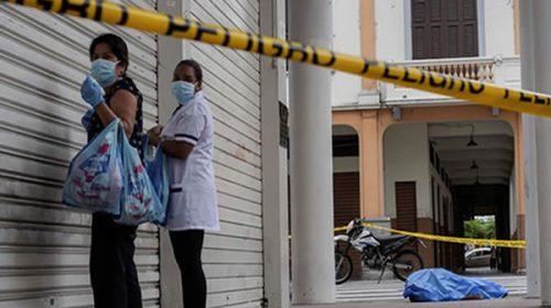 Alarmante situación por coronavirus en Ecuador: hay decenas de cadáveres tirados en las calles