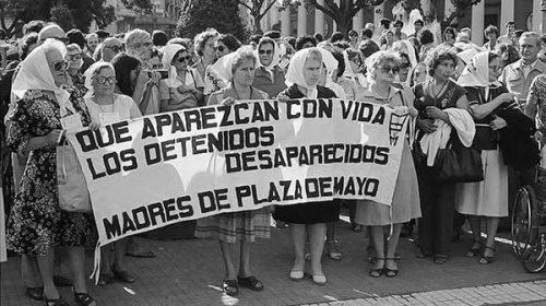 Festejos virtuales a 43 años de la primera ronda de las Madres