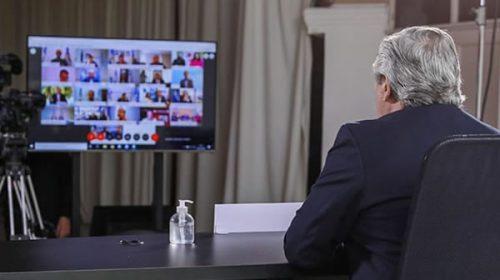 El presidente dialoga con jefes de bloque de Diputados sin Juntos por el Cambio