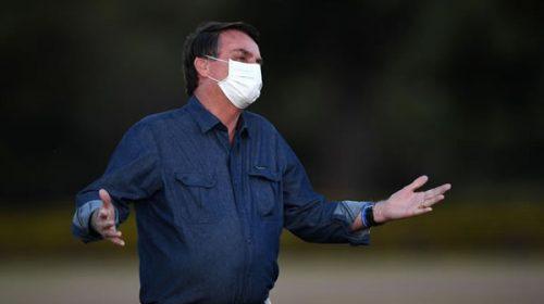Bolsonaro anunció que tiene infección pulmonar