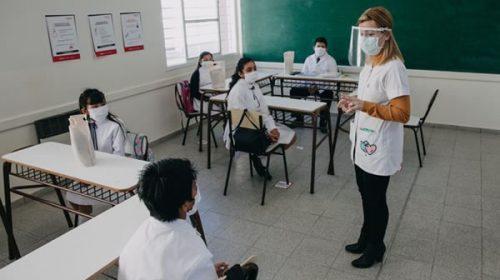 Cómo fue el regreso a clases en San Juan, la primera provincia en retomar la escolaridad presencial