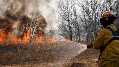 Queda un solo foco activo de incendio en Valle de Punilla y se esperan lluvias